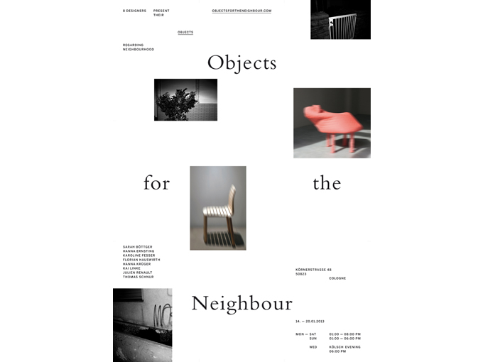Objects for the neighbour